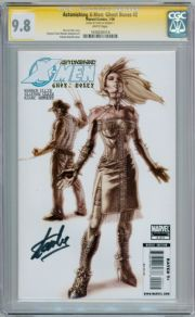 Astonishing X-Men Ghost Boxes #2 CGC 9.8 Signature Series Signed Stan Lee Marvel comic book
